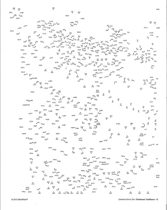 free mindware dot to dot printables