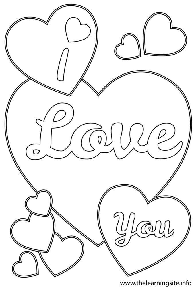 boyfriend coloring pages | I Love You Boyfriend Coloring Pages - Coloring Home