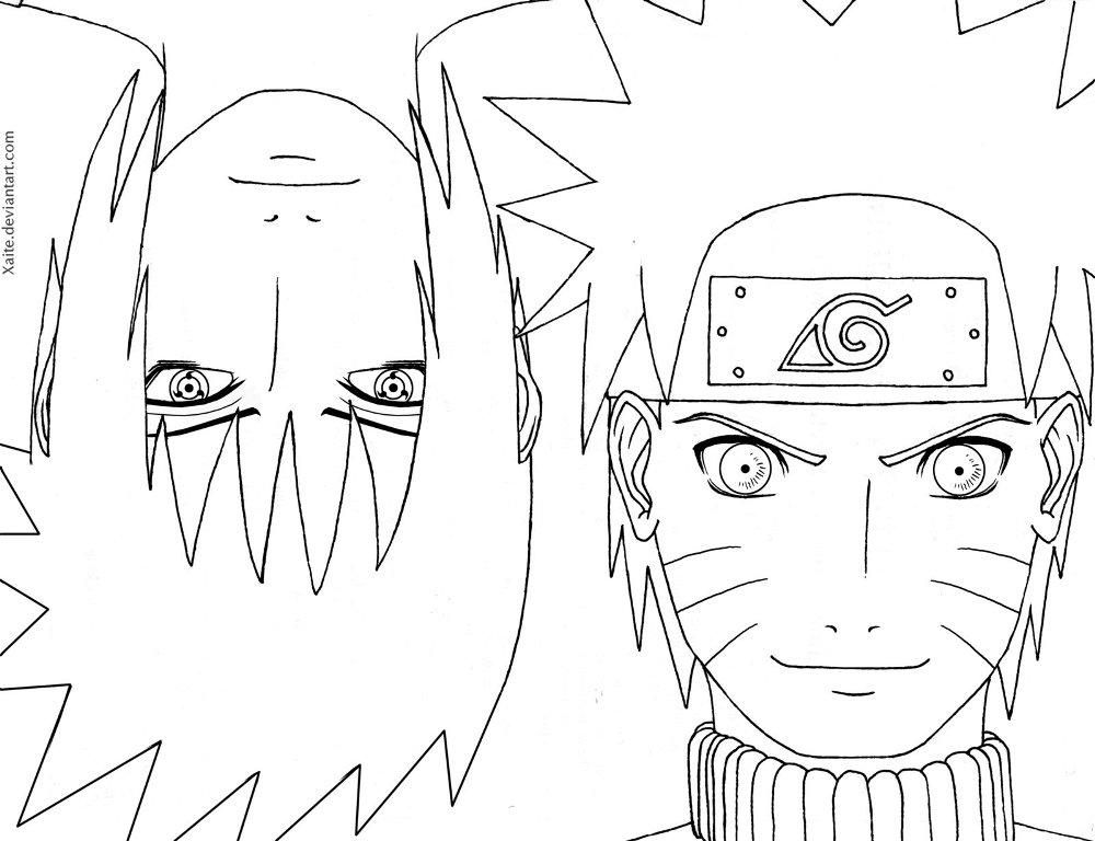 Naruto Coloring Pages Pdf : Naruto shippuden printable coloring pages for kids and