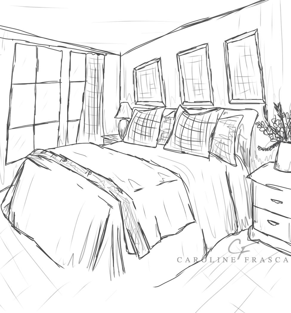 Coloring pages for bedroom - Best Photos Of Bedroom Coloring Pages Bedroom Coloring Sheet