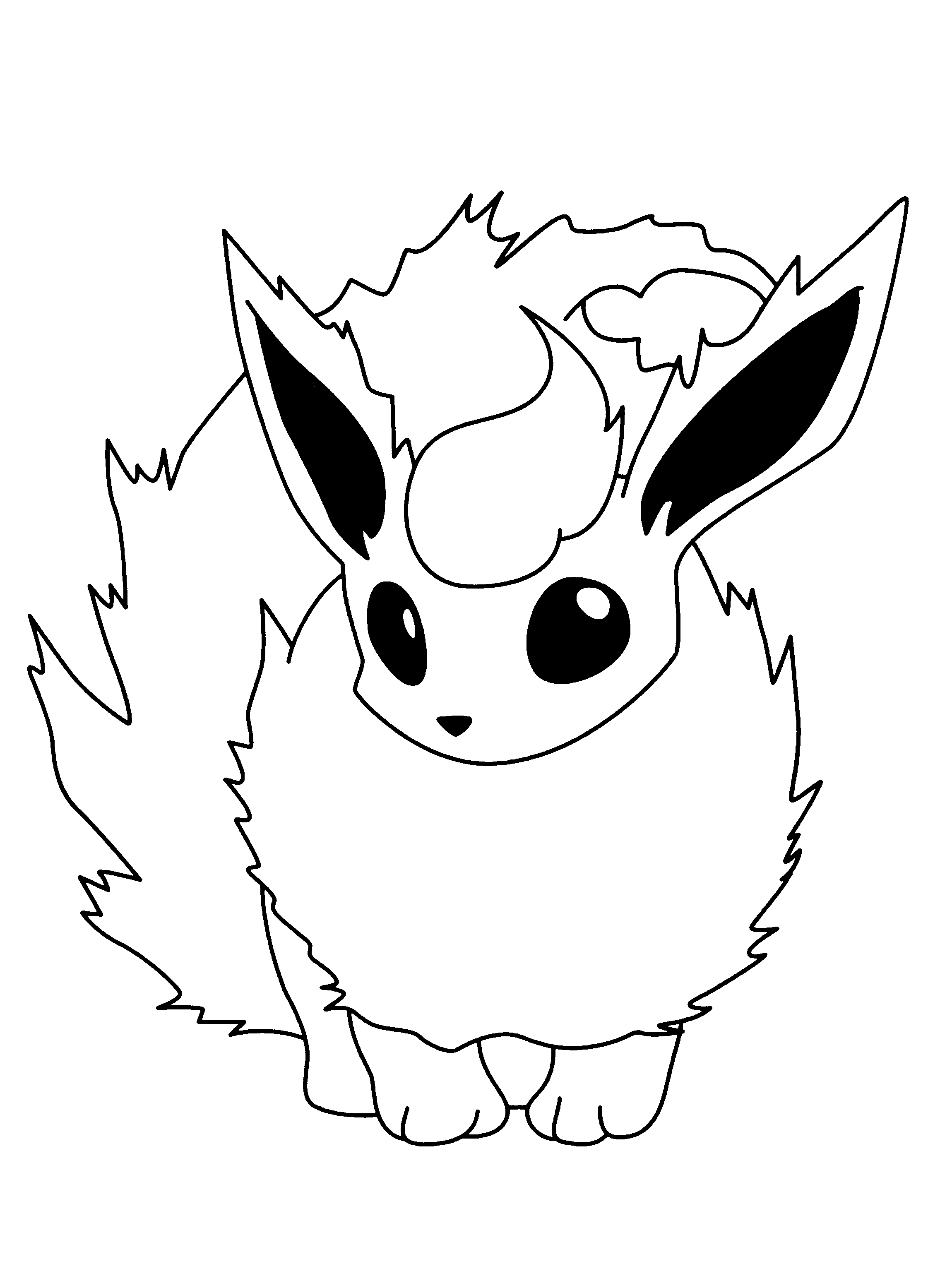 Pokemon Coloring Pages Eevee Evolutions Coloring Home