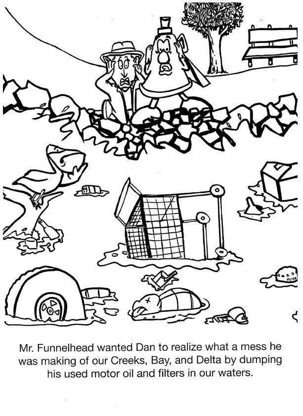 pullution coloring pages - photo#10