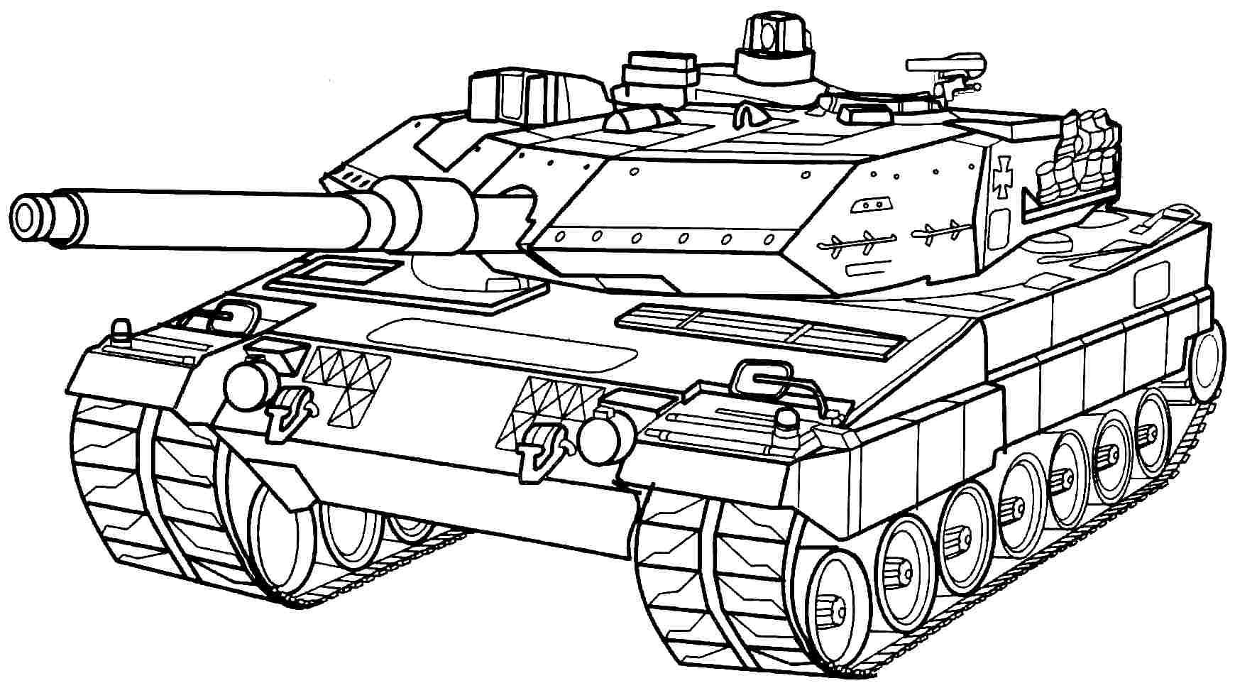 Army Tank Coloring Pages Free Coloring Home