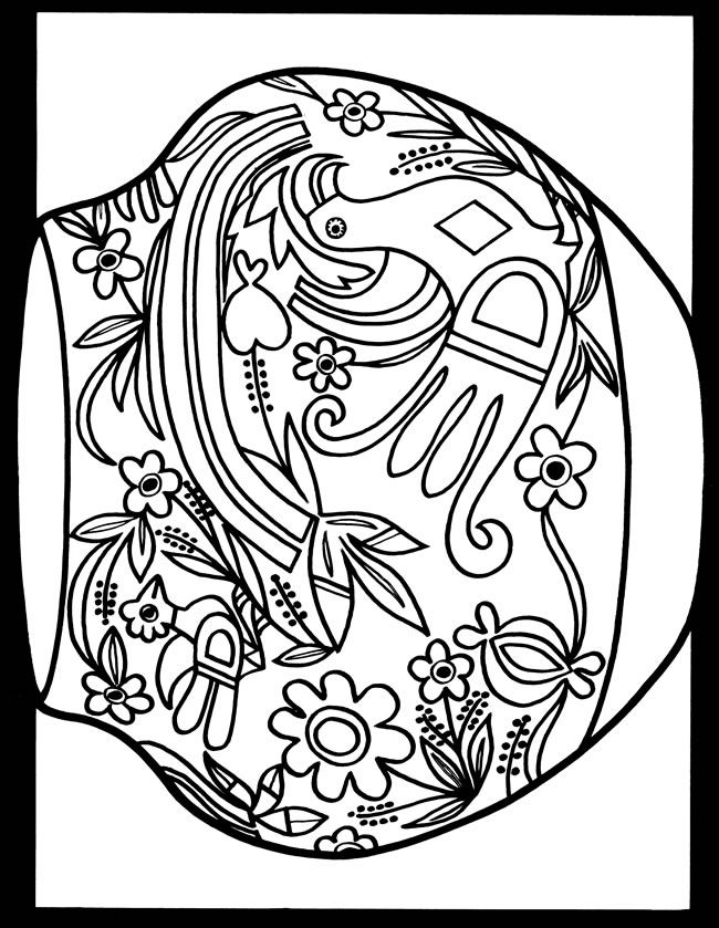 free coloring pages india designs - photo#46