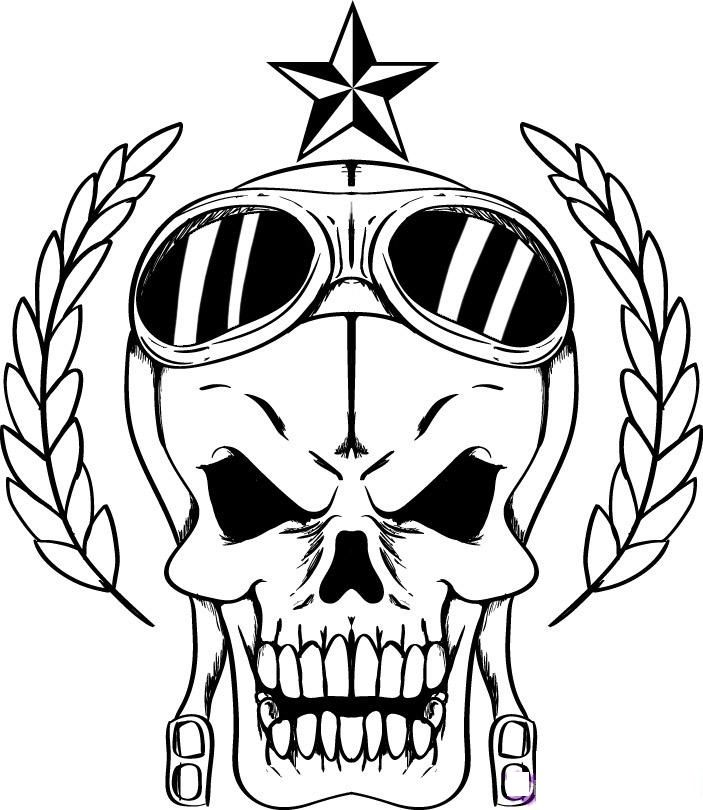 Skull Coloring Pages For Adults Coloring Home