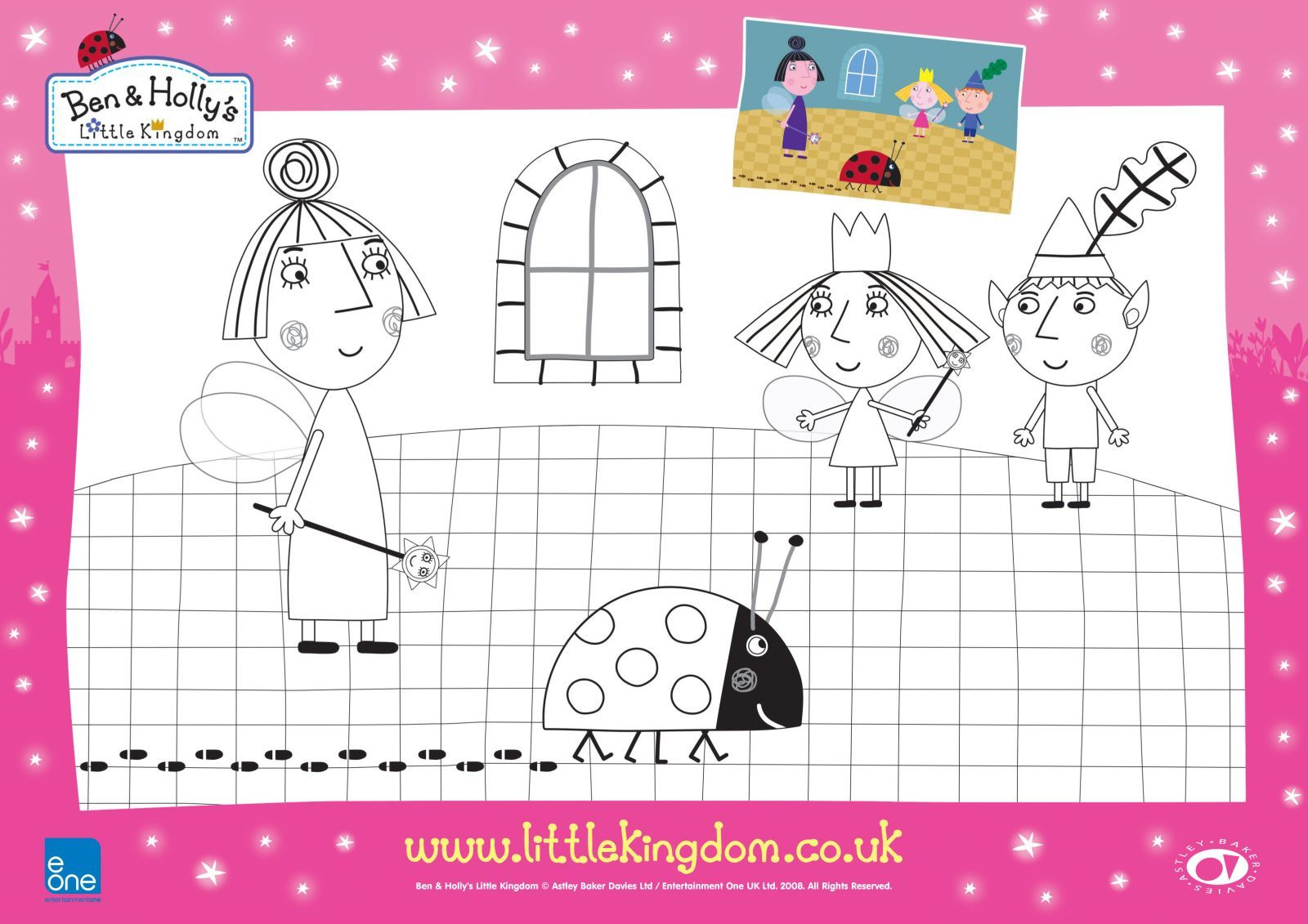 ben and holly downloadable fun uk mums tv coloring home