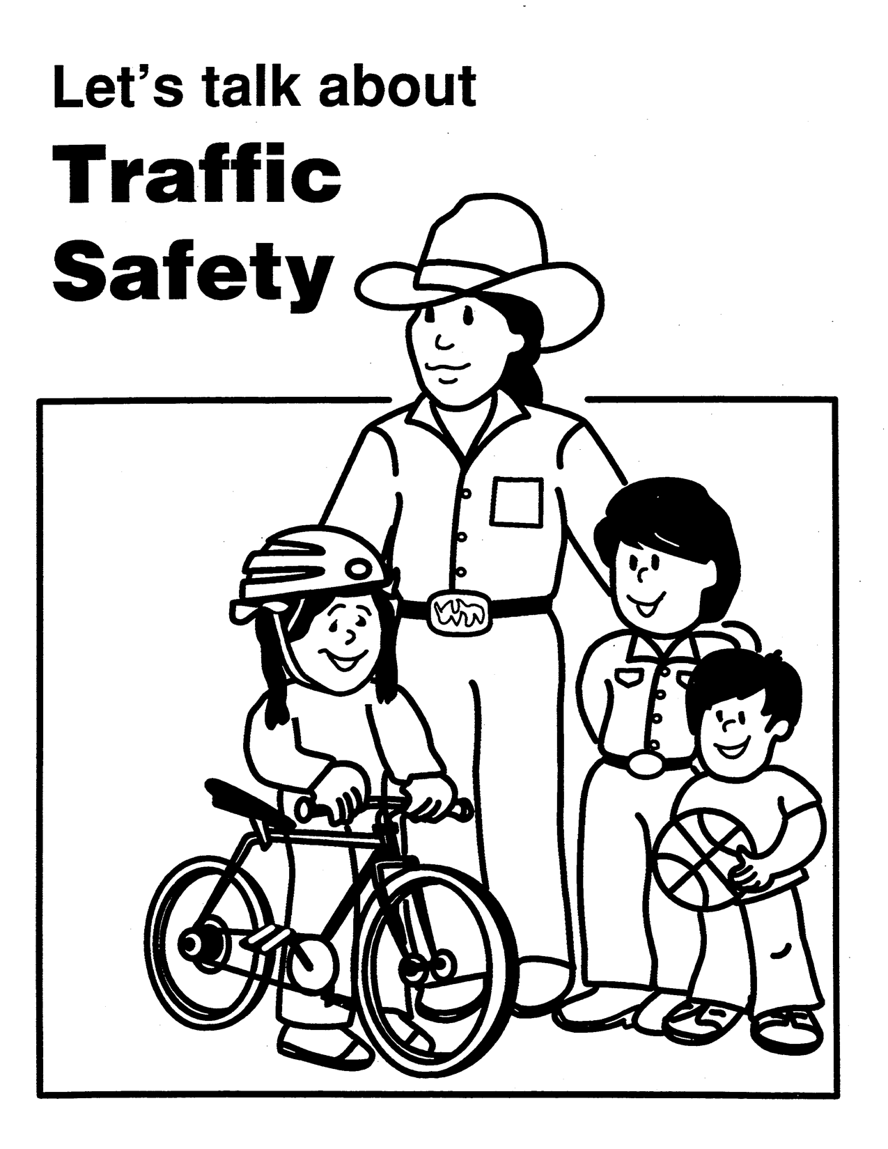 Colouring sheets for road safety - 6 Pics Of Traffic Safety Coloring Pages Road Safety Coloring