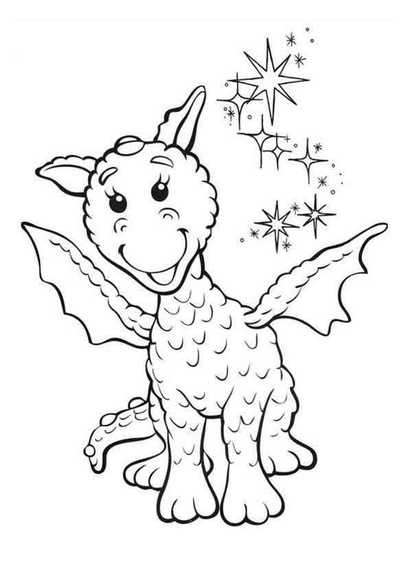 Ming The Dragon Is Smiling In Rupert Bear Coloring Pages Best