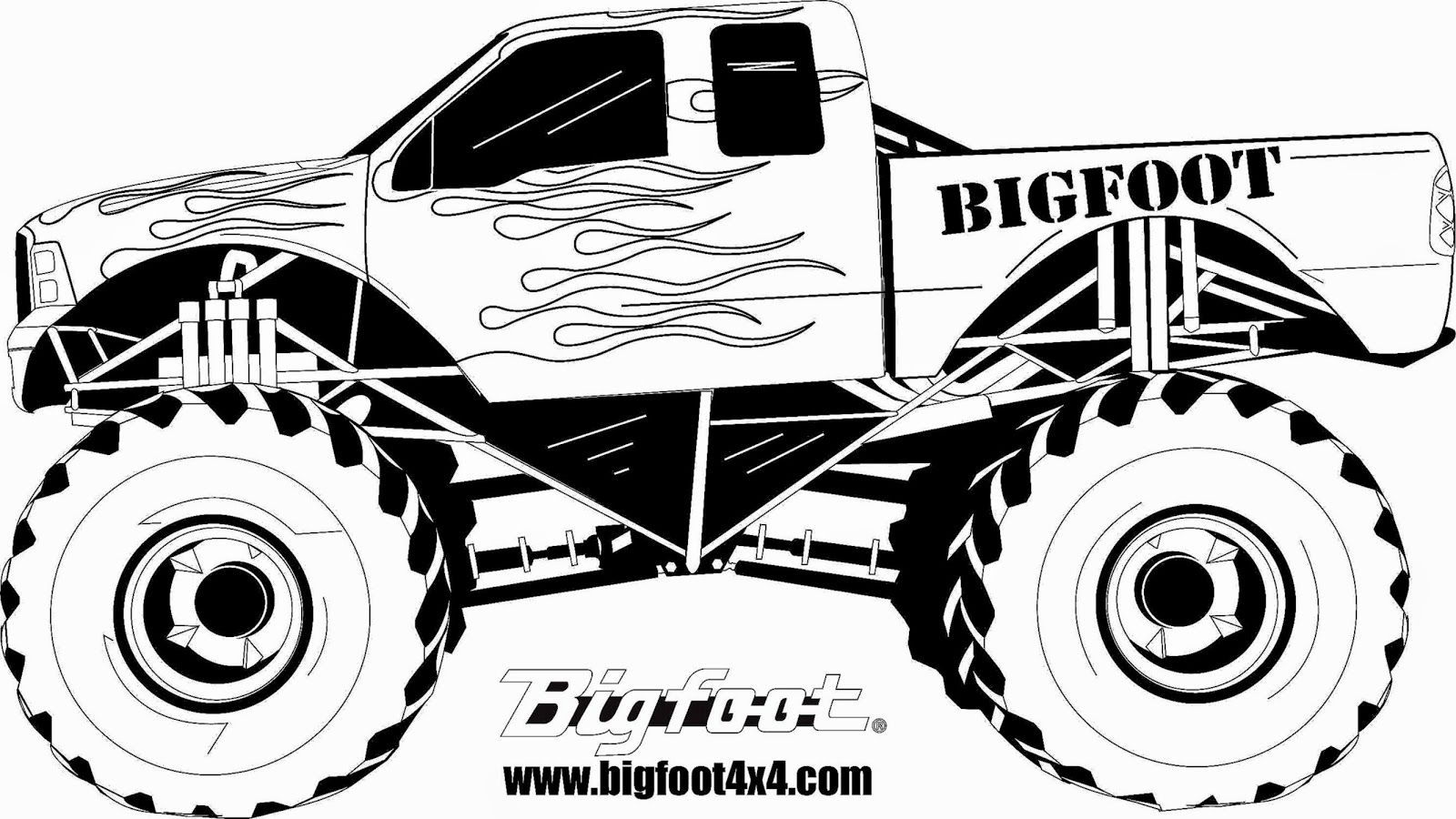 Adult Top Monster Truck Coloring Pages To Print Images top free coloring pages monster jam trucks printable gallery images