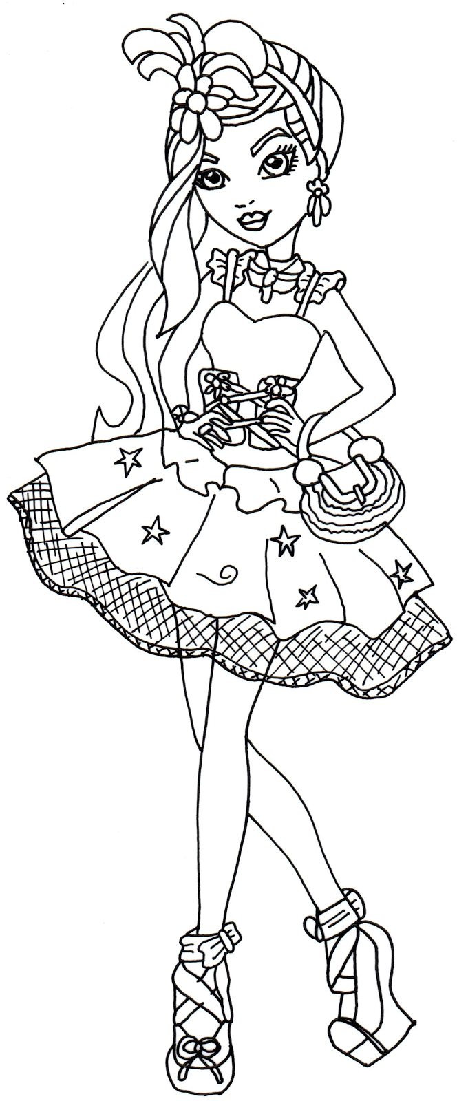 Ever After High Coloring Pages Coloring Home