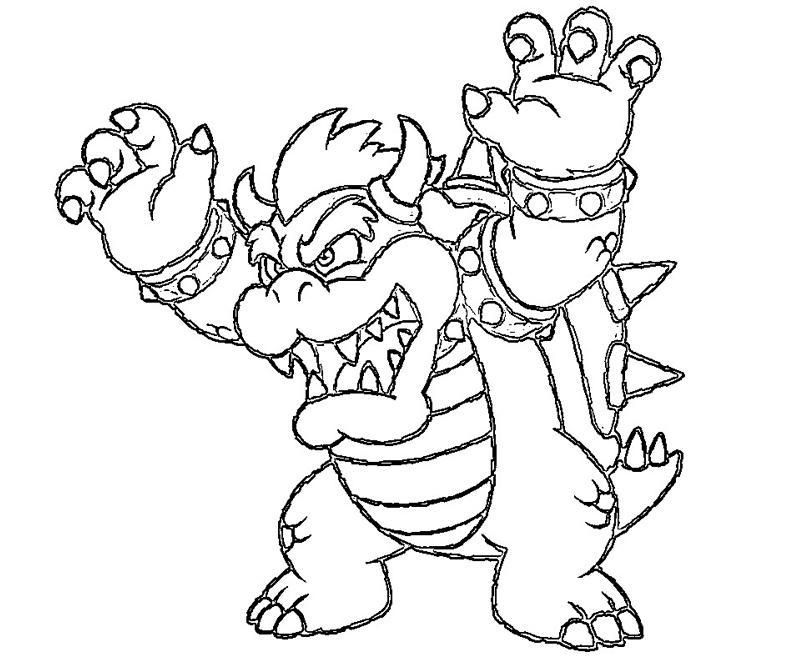 Bowser Jr Coloring Pages Print Coloring Home