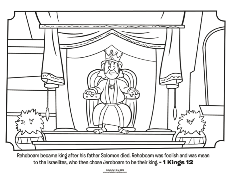 Coloring Page With JOsiah AZ Coloring Pages