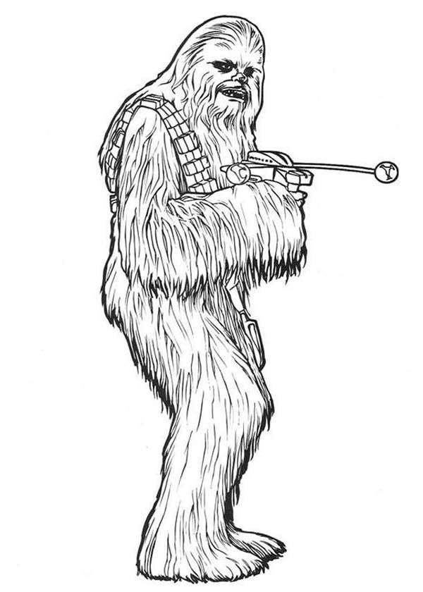 Chewbacca Coloring Page Coloring