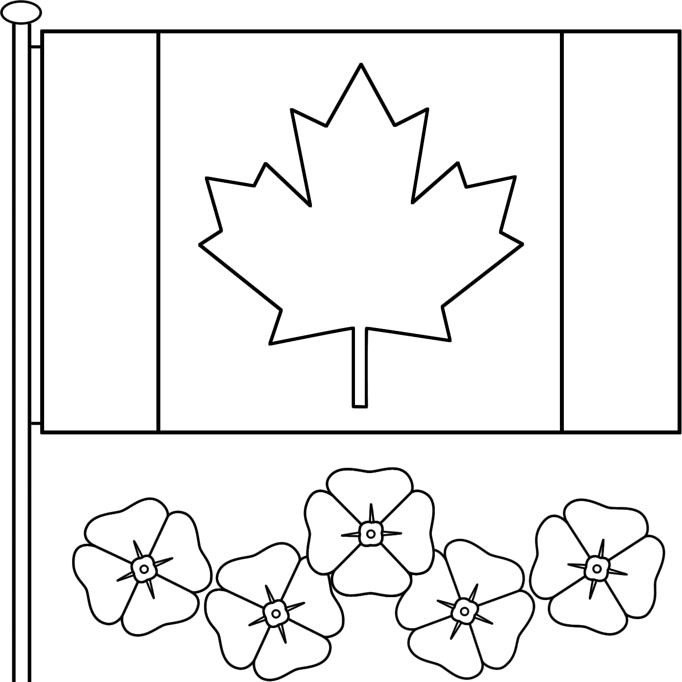 Coloring Pages For Remembrance Day : Remembrance day coloring pages home