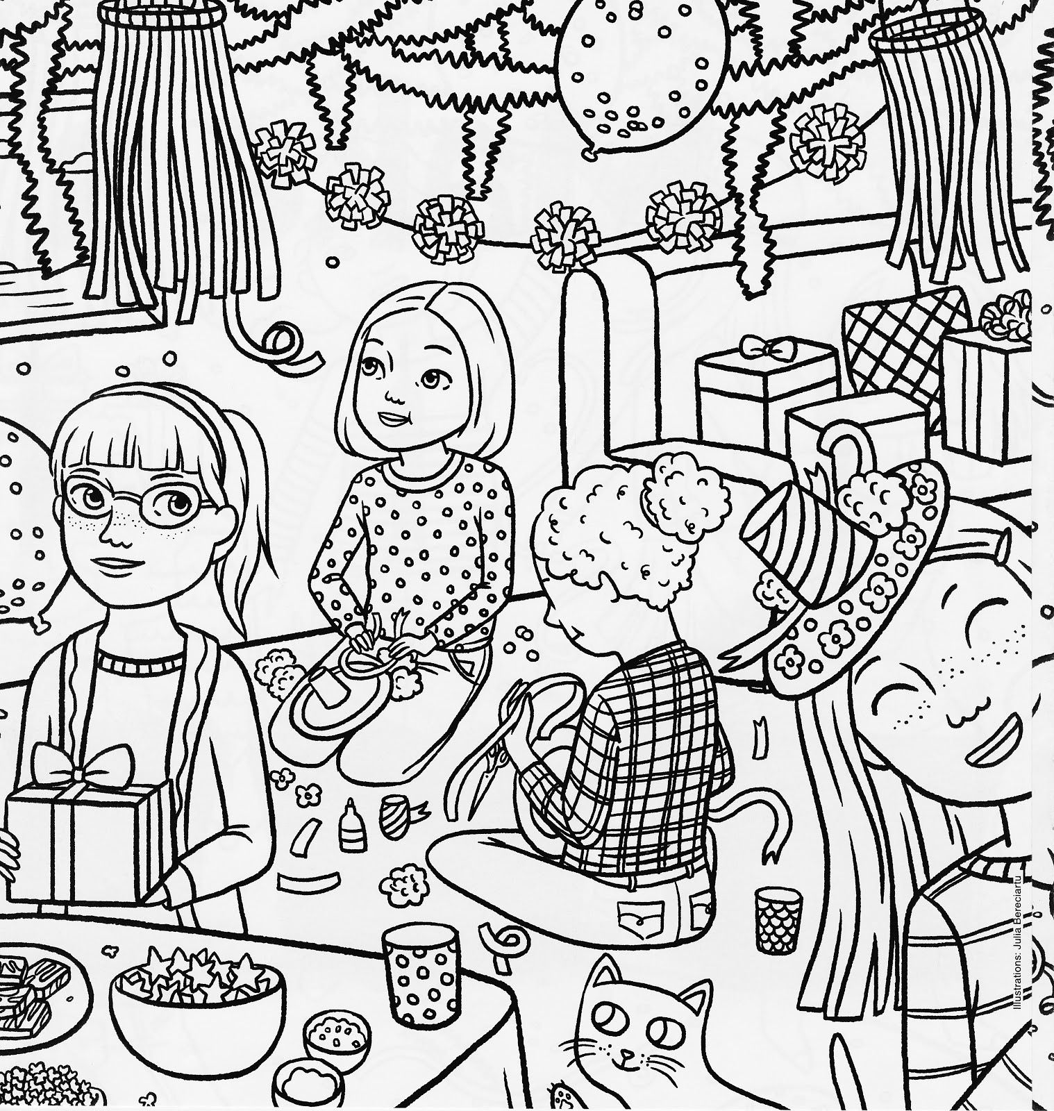 American Girl Doll Mckenna Coloring Pages American Girl Coloring ...