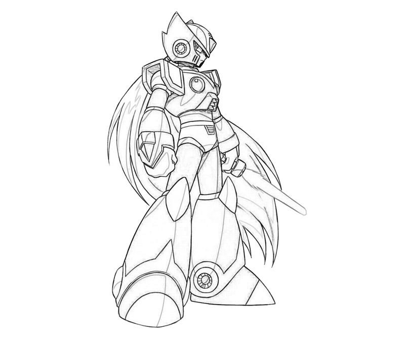 Christmas Coloring Pages Mega Man X - Coloring Pages For All Ages ...