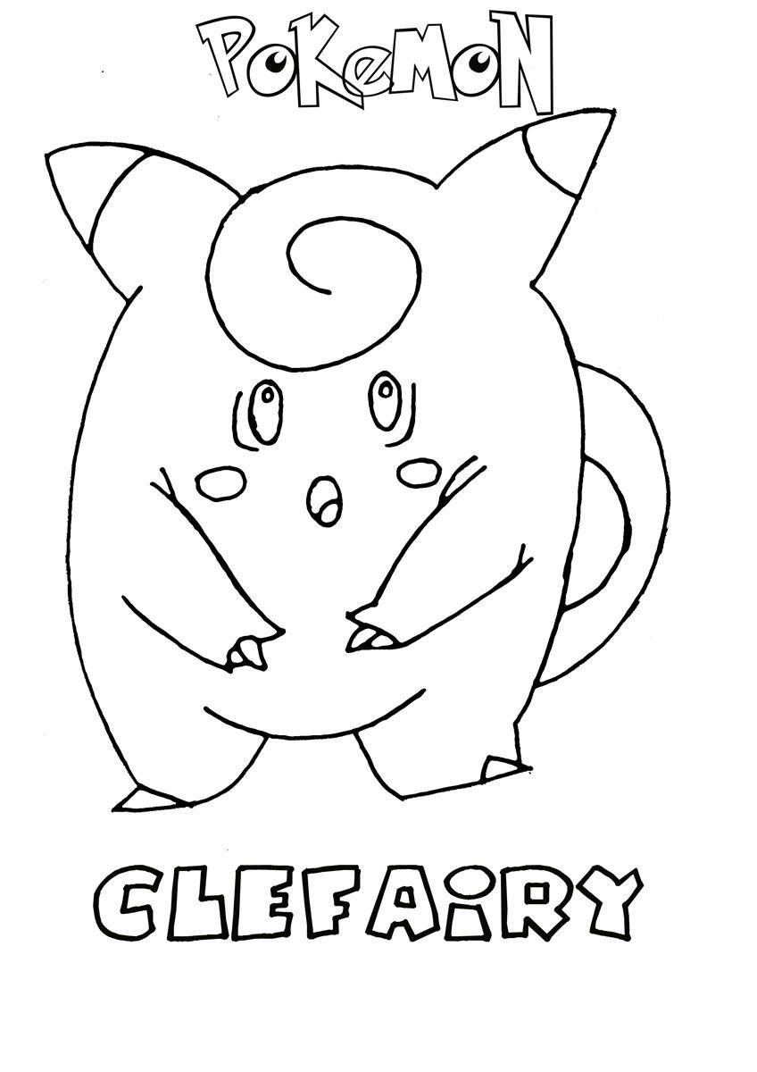 Pokemon Coloring Pages Pdf : Pokemon coloring pdf printable images