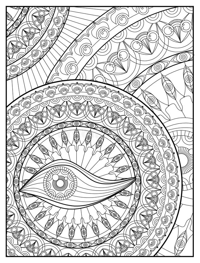 Meditation Coloring Pages - Coloring Home