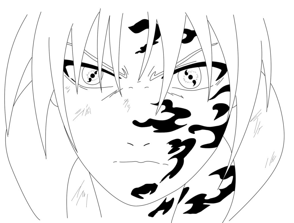 Sasuke Sharingan Coloring Pages to Print | Coloring pages, Coloring pages  to print, Sasuke sharingan