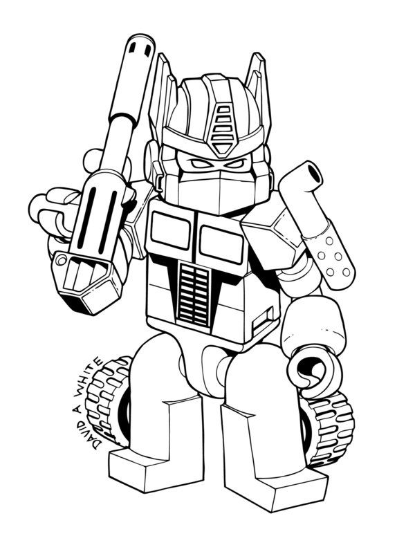 Rescue Bots Coloring Pages Pdf : Free coloring pages of rescue bots transformers