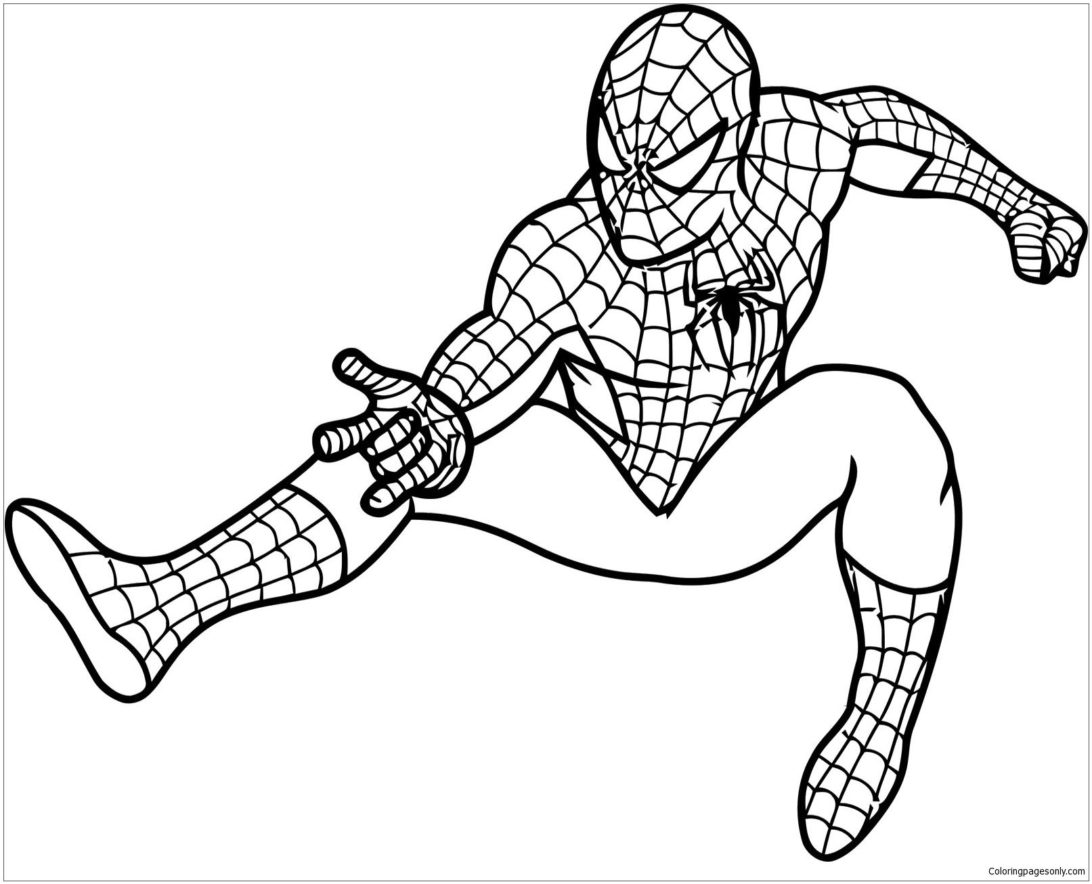 Coloring Pages : Epic Spider Man Coloring Spiderman Kumon Levels ...