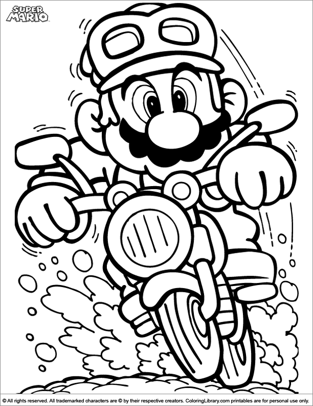 15 Pics Of New Super Mario Bros Coloring Pages - Super ...