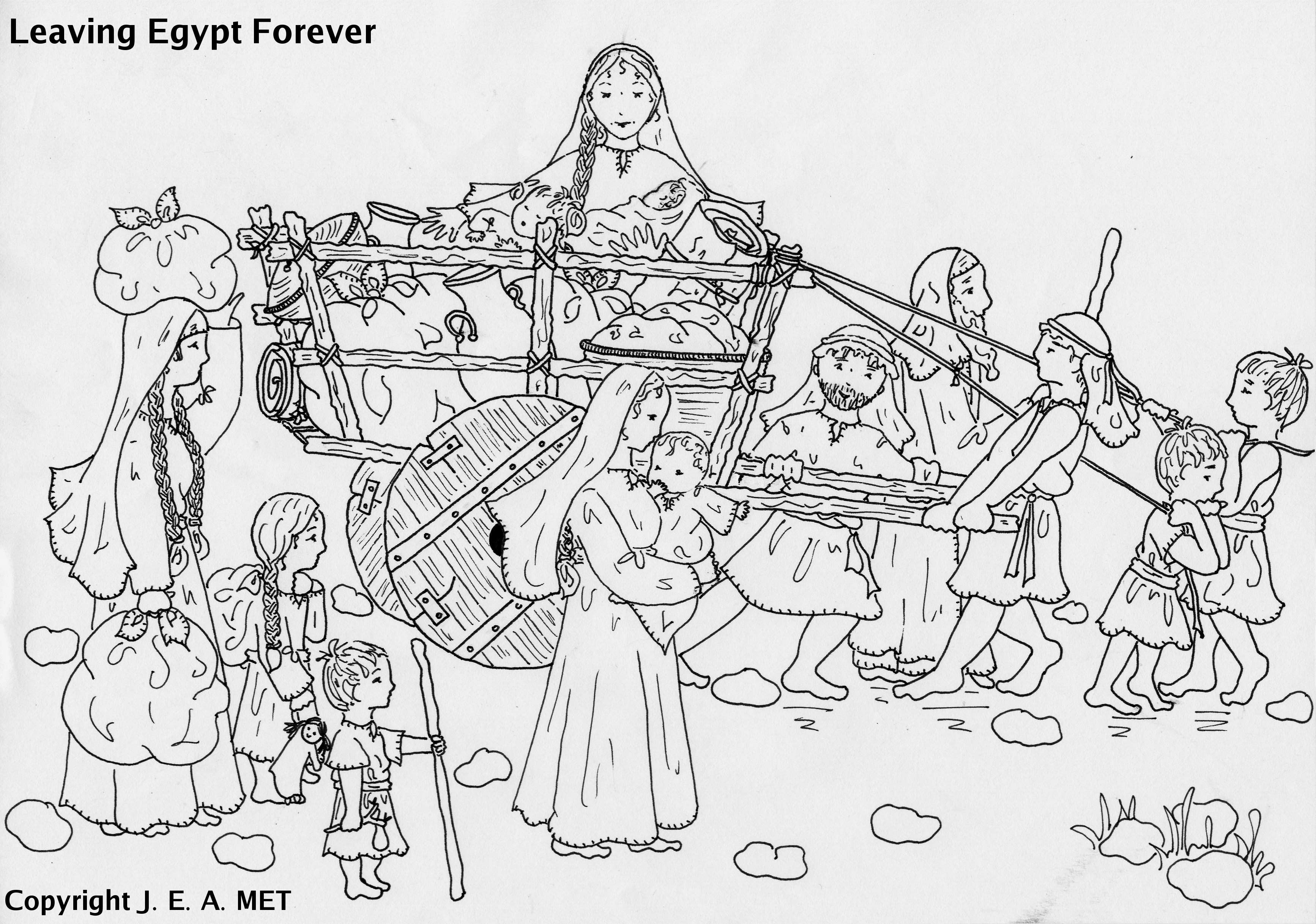 Coloring Pages Crossing The Red Sea Coloring Home Crossing The Sea Coloring Page