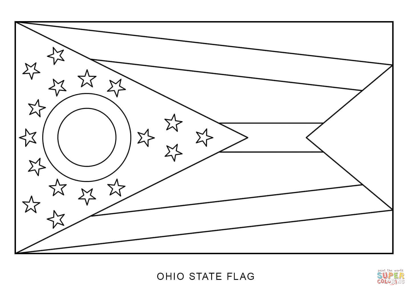 ohio coloring pages - photo#11