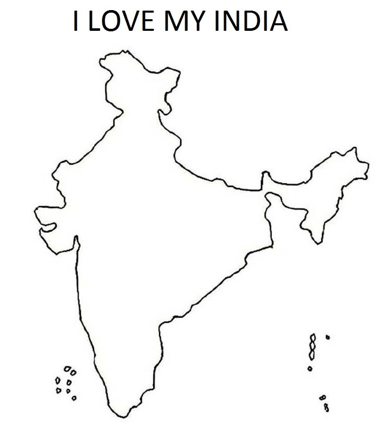 Image Result For How To Draw India Map Outline