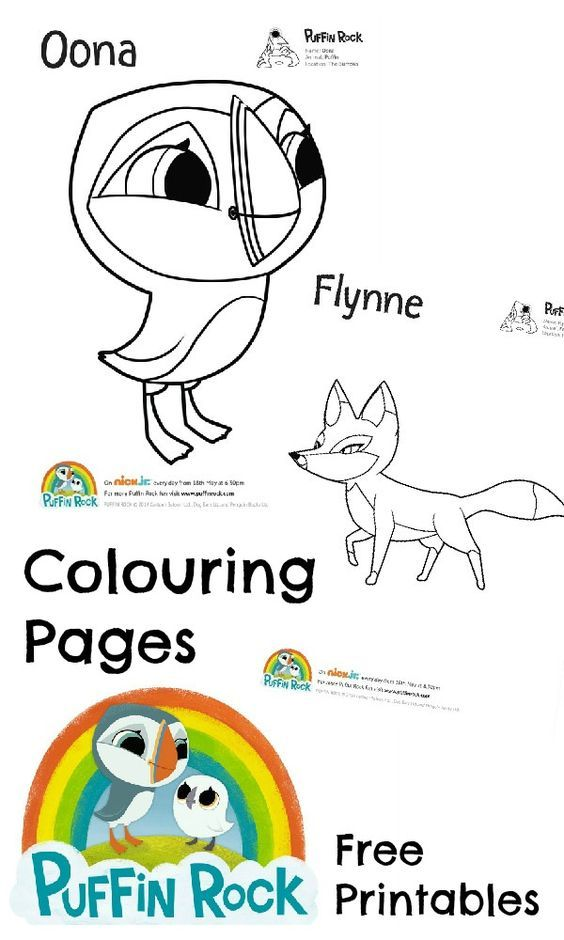 Puffin coloring pages coloring home for Puffin coloring pages to print