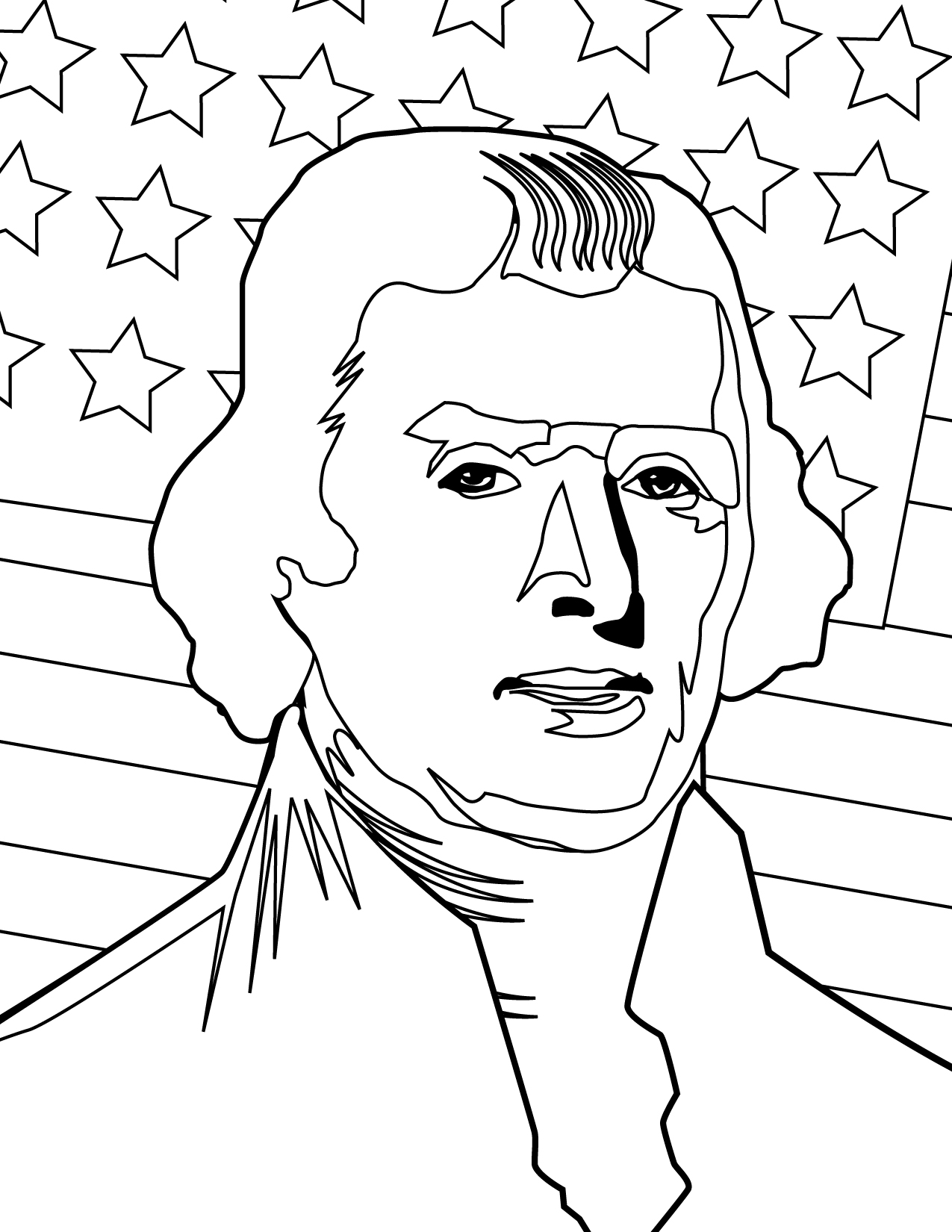 Thomas Jefferson Coloring Pages Az Coloring Pages Jefferson Coloring Pages