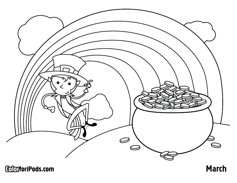 march wind coloring pages - photo#12