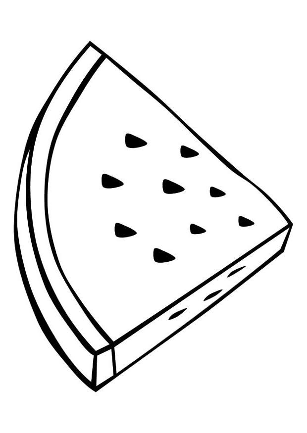 Printable Watermelon Coloring Pages For Kids | Coloring Pages
