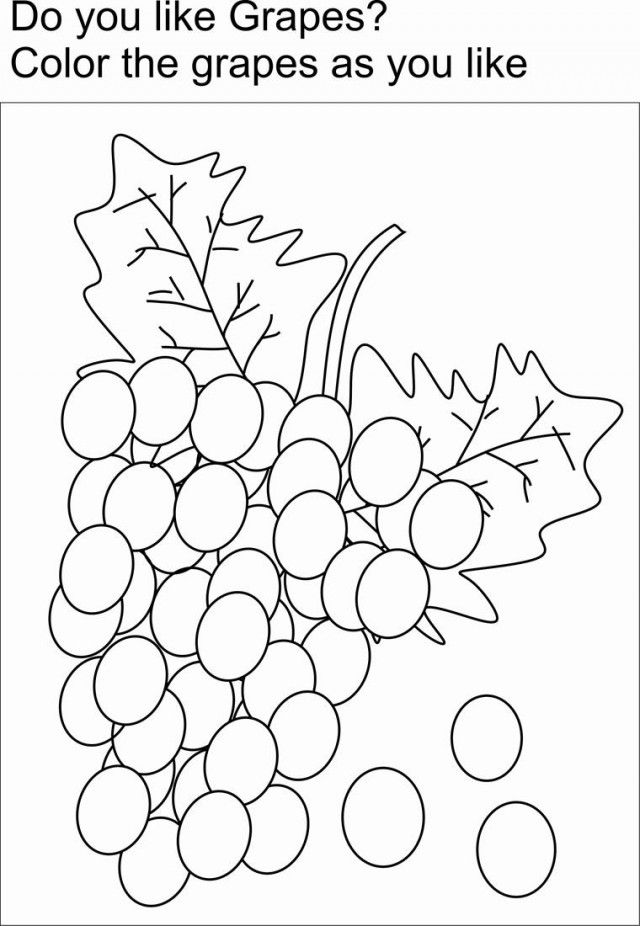 The Fruit Of The Spirit Coloring
