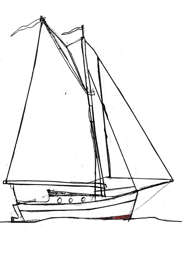 скетчи лодок