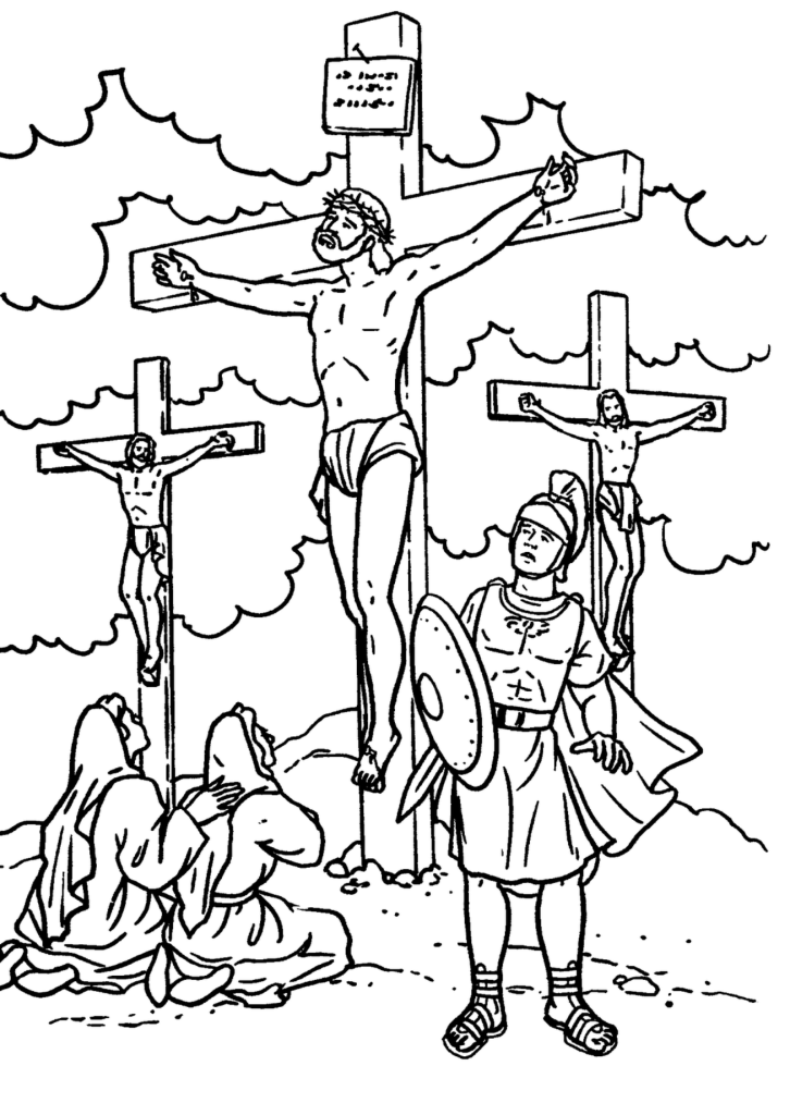zacchaeus and jesus coloring page coloring home