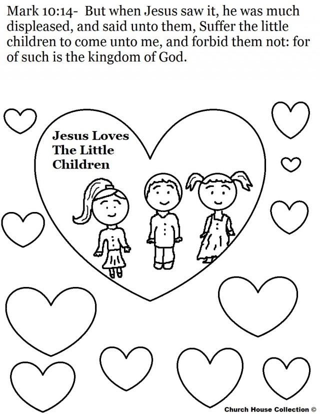 Coloring Pages For Sunday School Preschool : Preschool sunday school coloring pages az
