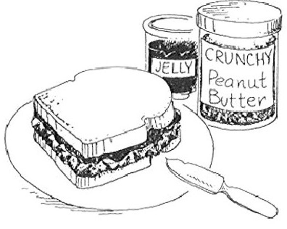 Kids Eating Peanut Butter And Jelly