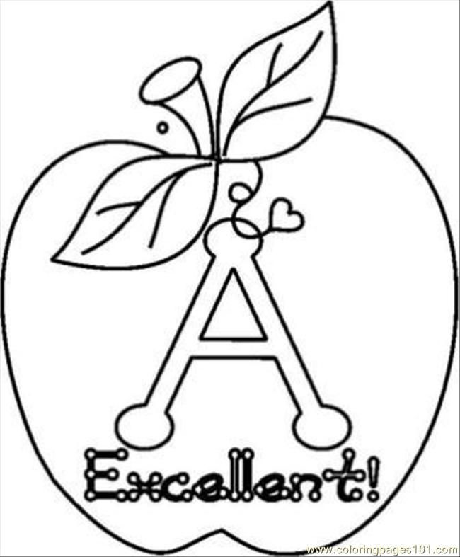 kids coloring pages nutrition foods - photo#24