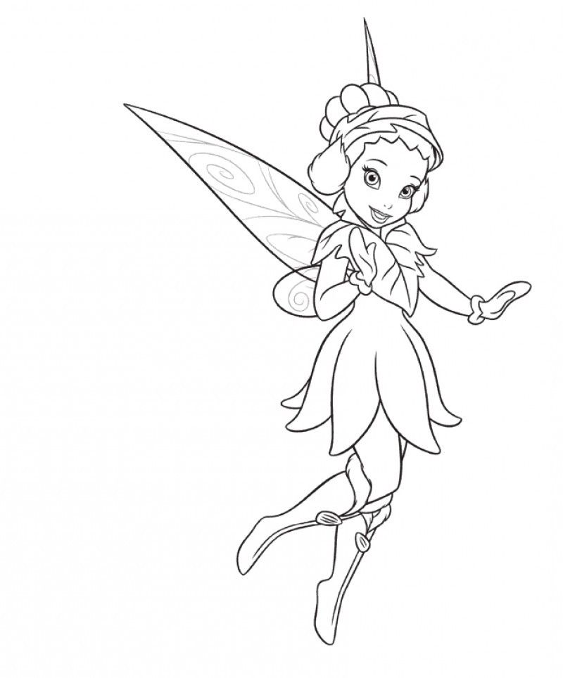 Iridessa Coloring Pages