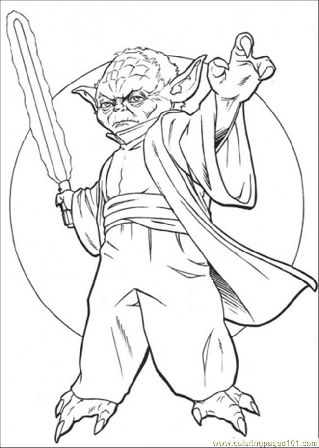coloring pages and clone wars - photo#7