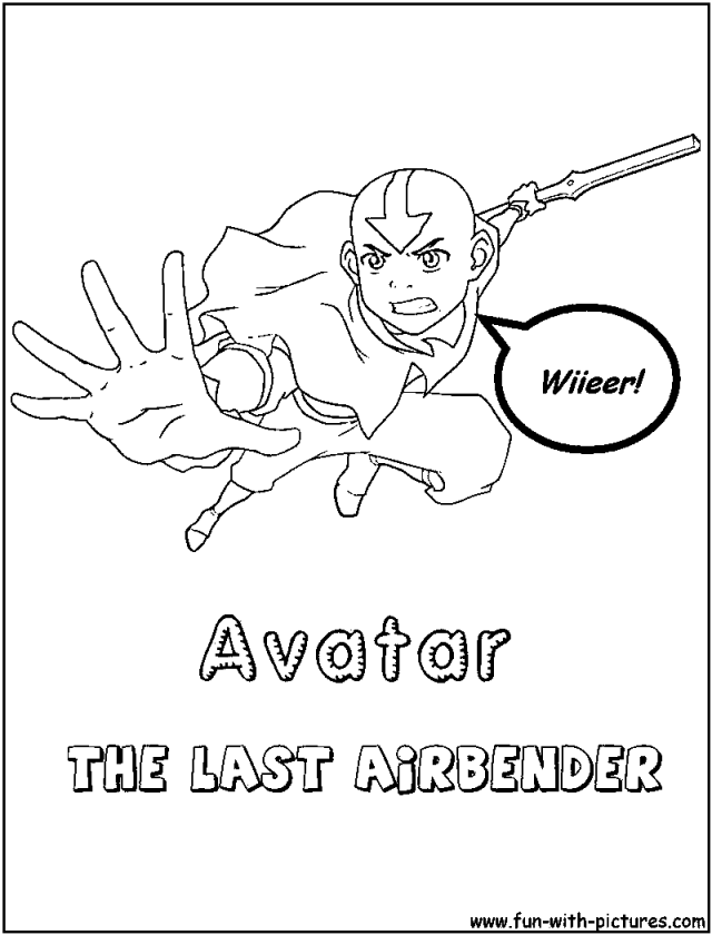 Avatar The Movie Coloring Pages - Coloring Home