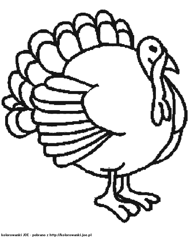 Turkey Feather Coloring Page - Coloring Home