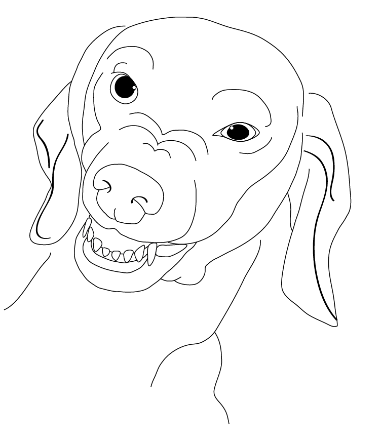 dachshund coloring page coloring home