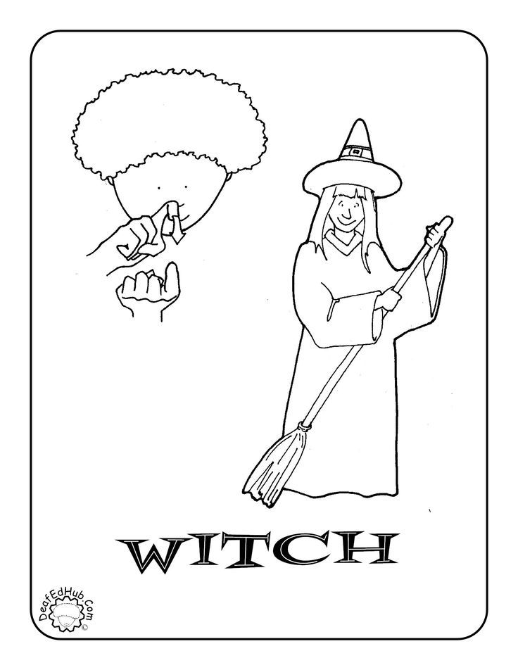 l asl coloring pages - photo #15