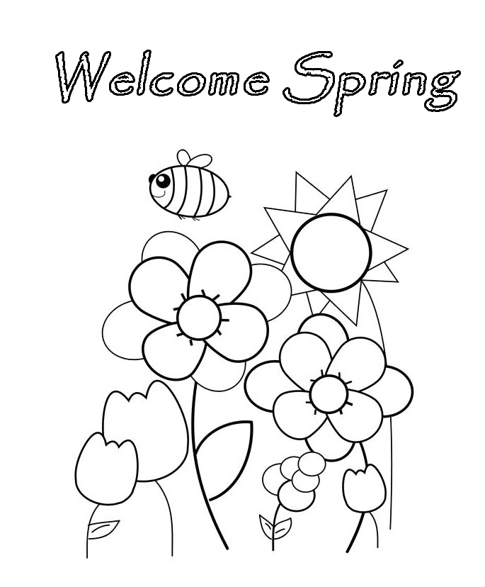 welcome sign coloring pages - photo#13