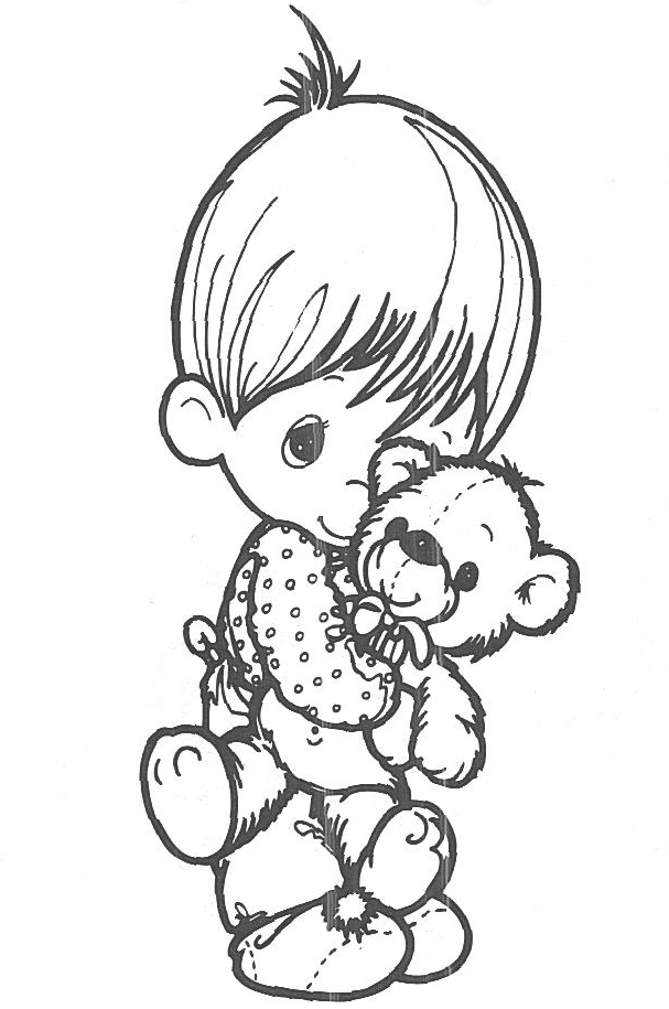 Precious moments coloring pages to print az coloring pages for Coloring pages precious moments print