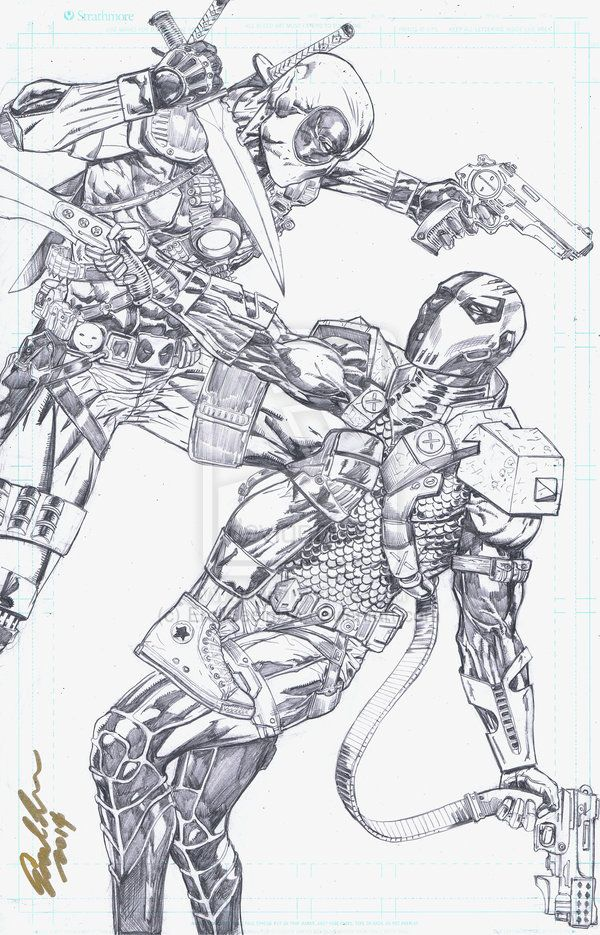 Deathstroke Vs Deadpoo...