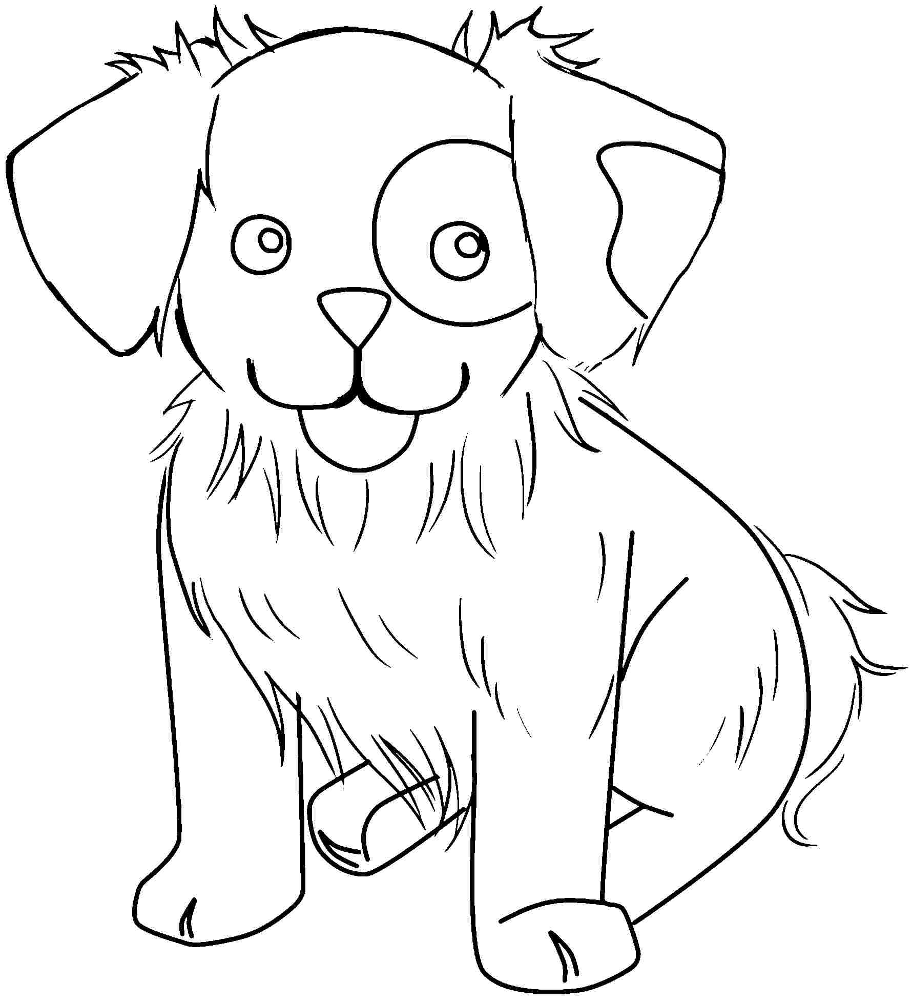 print cute animal coloring pages - photo#31
