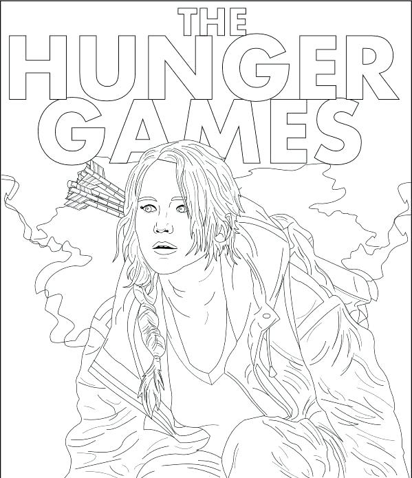 The Hunger Games Coloring Pages Coloring Home